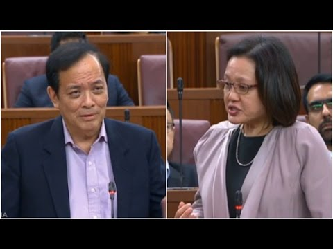 """MP Sylvia Lim to Charles Chong: """"What is he complaining about?"""" - 100317"""