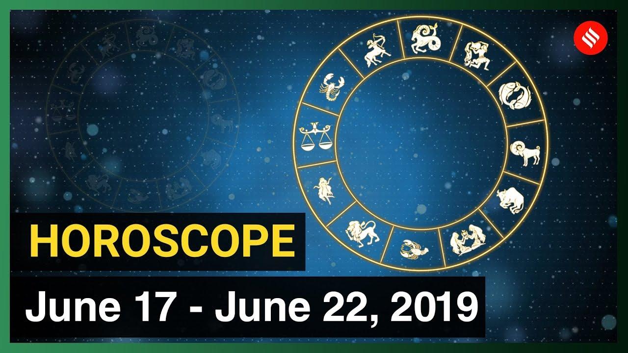 Today's Horoscope: Your Week Ahead (17 - 22 June, 2019)