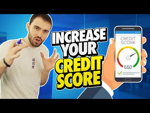 How To Increase Your Credit Score FAST! (Credit Secrets)