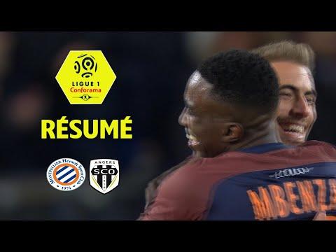 Montpellier Hérault SC - Angers SCO (2-1)  - Résumé - (MHSC - SCO) / 2017-18