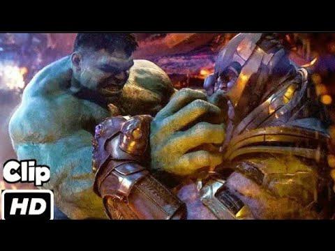 Download Hulk VS Thanos Hindi  Avengers infinity War  Fight Scene  Movie Clip HD