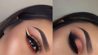 Easy eye makeup tutorial | eye makeup compilation #6