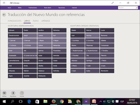 JW Library Para Computador Con Windows10 L Instalación En Español