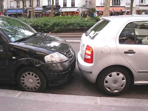 perfect parking in Paris