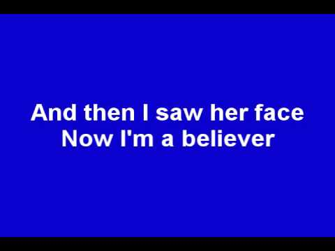 Smash Mouth - I'm a Believer (Lyrics) (Shrek)