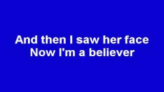 Repeat youtube video Smash Mouth - I'm a Believer (Lyrics) (Shrek)