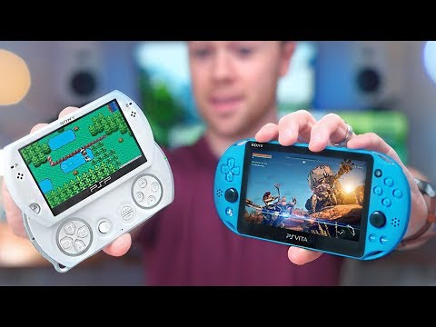 The PSP Go & PS Vita Failed, but I LOVE Them! Handhelds in 2018