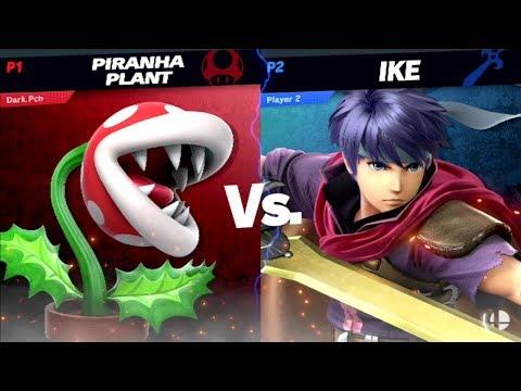 Dark.Pch (Piranha Plant) Vs. Ike ~ Super Smash Bros. Ultimate ~ thumbnail