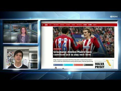Headlines: Atlético kan inte stå emot Uniteds jättesatsning - TV4 Sport