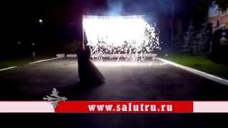 Фейерверк на свадьбе в Самаре (Самарская область).