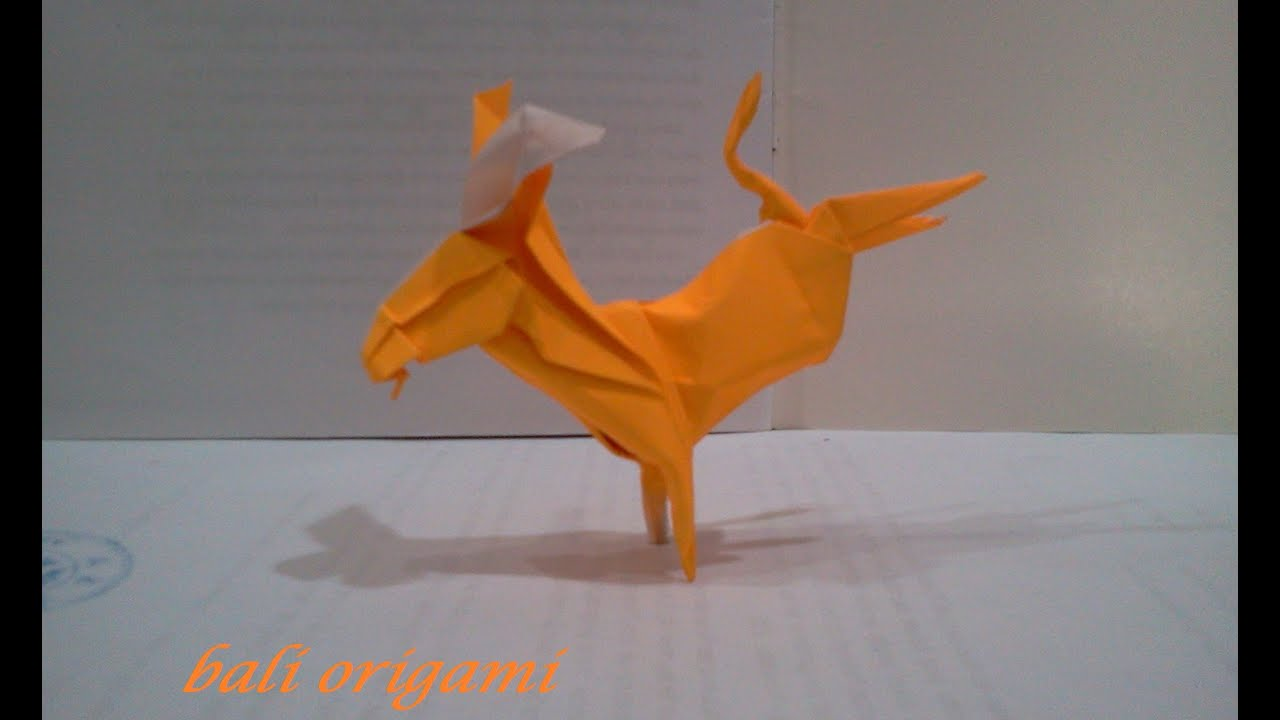origami donkey ren233e mollo youtube