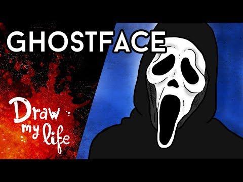 El SINIESTRO origen de GHOSTFACE - Draw My Life en Español