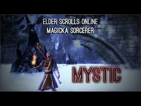 """Magicka Sorcerer Build PvE """"Mystic"""" - Morrowind"""