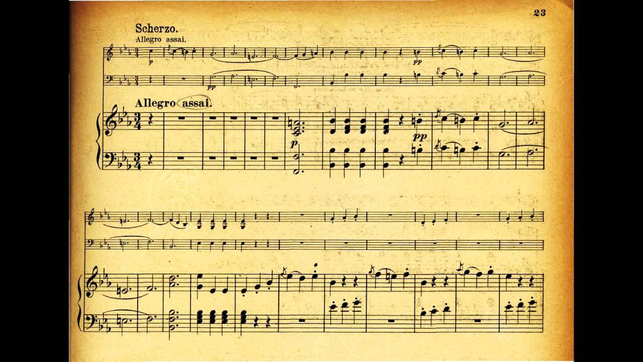 Beethoven: Piano Trio, Op. 1, No. 3 / Piano Trio In E Flat ...