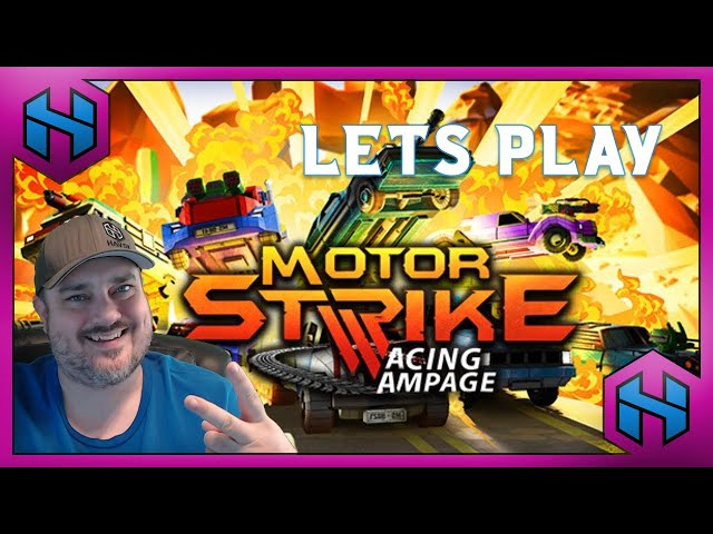 Let's Play: MOTOR STRIKE RACING RAMPAGE | HAVOK LETS PLAY #ad