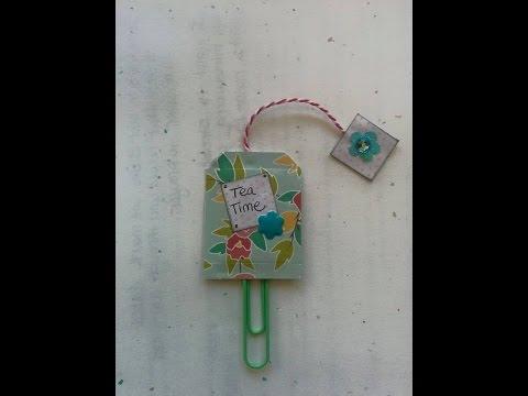 Mini Teabag Paper Clip Art Tutorial thumbnail