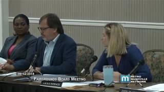 06/12/18 Fairgrounds Board Meeting