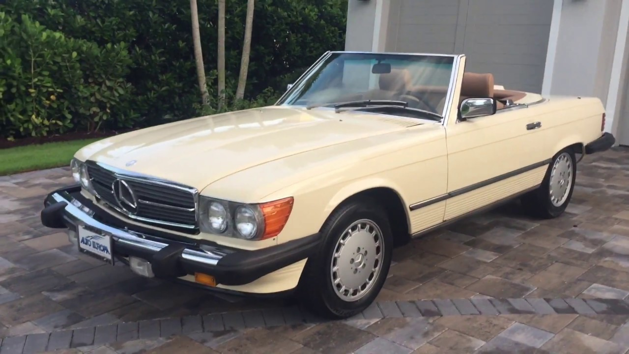 1986 Mercedes Benz 560sl Roadster For Sale By Auto Europa