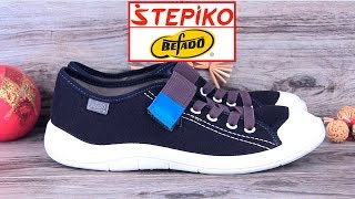 Детские текстильные кеды BEFADO Tim 251X047. Видео обзор от STEPIKO