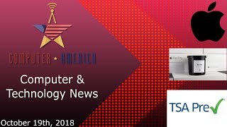 Computer/Technology News, Talking Apple News, TSA Biometric Data, Internet of Smells
