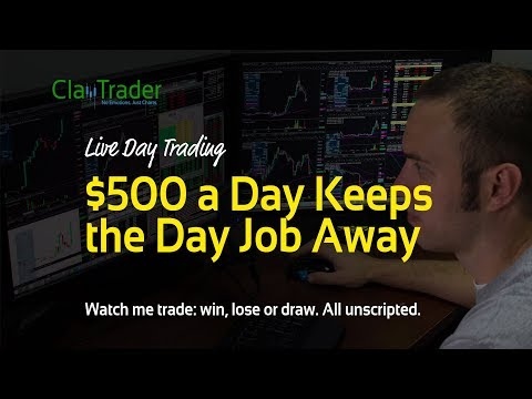 Live Stock Trades - $500 a Day Keeps the Day Job Away