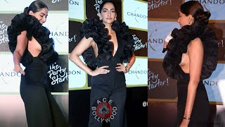 Sonam Kapoor Beautiful Black Dress