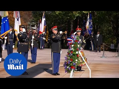 Arlington National Cemetery honors soldiers for Veterans Day 2018
