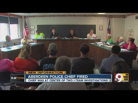Aberdeen Police Chief fired