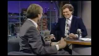 1990 - William Hurt on WHY He Did Late Night with David Letterman