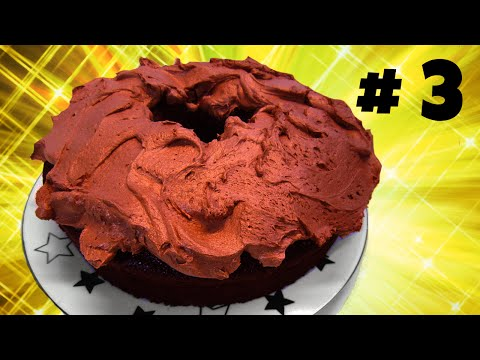 How to Make the Best Whipped Cream Chocolate Frosting / Icing - 동영상