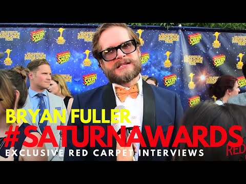Bryan Fuller #AmericanGods interviewed at the 42nd Annual Saturn Awards #SaturnAwards
