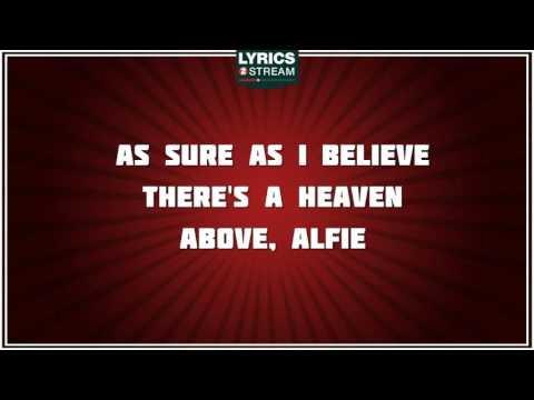 Alfie - Cilla Black tribute - Lyrics