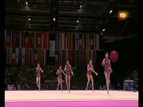 Mundial Gimnasia Ritmica 2011 RUSIA Final 5 BALLS