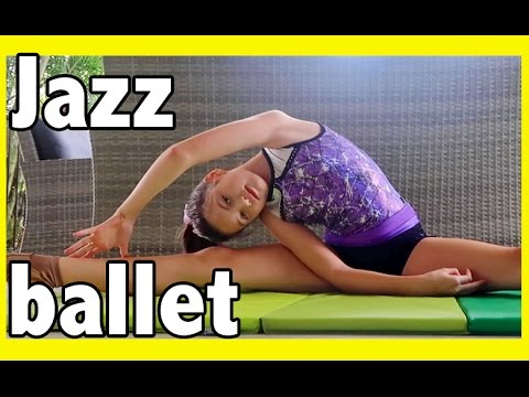 Jazz Ballet Lesson - learn some stretches and tricks (splits) with Charli - Crafty Kids Vlog 2