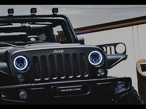 Jeep Jk Halo Headlights