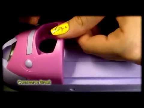 Штамп принт Nail Art машинка для нанесения рисунков на