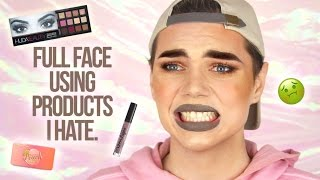 connectYoutube - FULL FACE USING PRODUCTS I HATE!! | Thomas Halbert