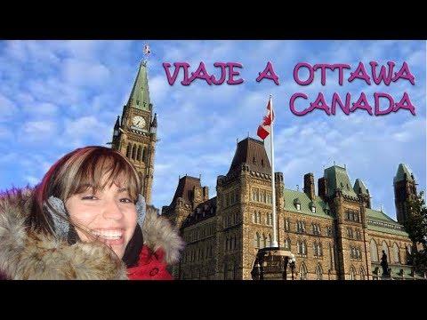 TURISTIANDO EN OTTAWA - CANADA ❤❤❤ CITY TOUR OTTAWA - CANADA
