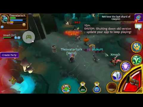 ARCANE LEGENDS ORC MAP GAMEPLAY
