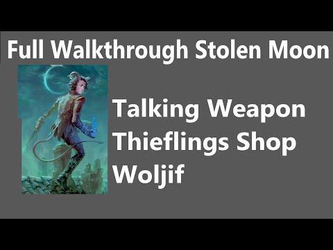 Pathfinder: Wrath of the Righteous, Full Walkthrough Stolen Moon, Talking Weapon, Thieflings Shop  