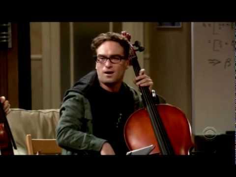 The Big Bang Theory- Leonard and Leslie get together