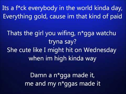 Roscoe Dash ft. Big Sean - Sidity (Lyrics)