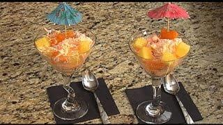 Orange Gelatin Cottage Cheese Salad