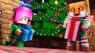 MY DAUGHTER AND I BECOME MEMBERS OF THE ELF PATROL! -- Minecraft