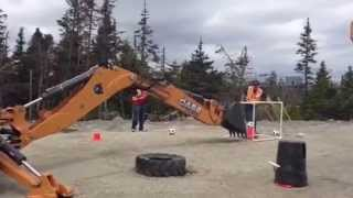 Backhoe rodeo