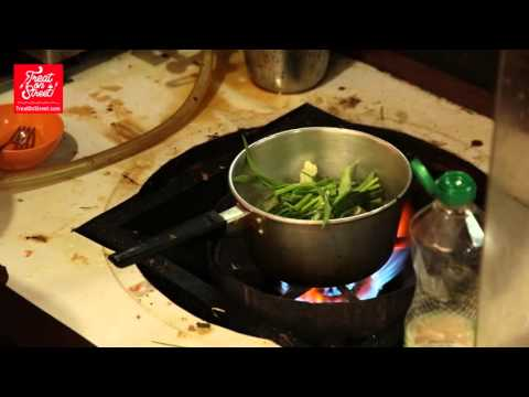 Bangkok Street Food   Thai Soup – Prawn Chicken & Pork Mix With Vegetables And Noodles – Isaraphap