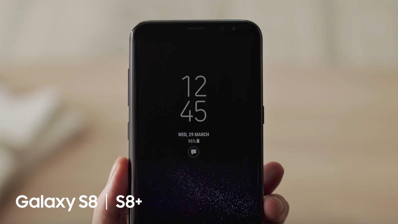 Samsung Galaxy S8 How To Always On Display