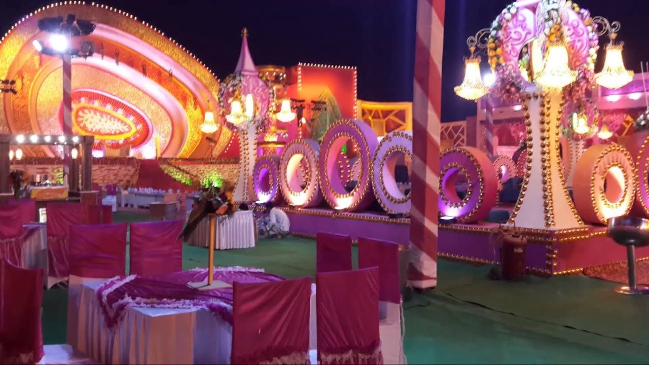 wedding at tajemayur by kawatra tent amp caterers youtube