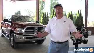 RAM Truck Technology Video - EcoDiesel Engine and Gooseneck 5th Wheel Package