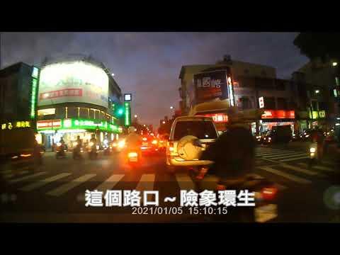 三寶出門了!不會吧!等到紅燈才橫越馬路!